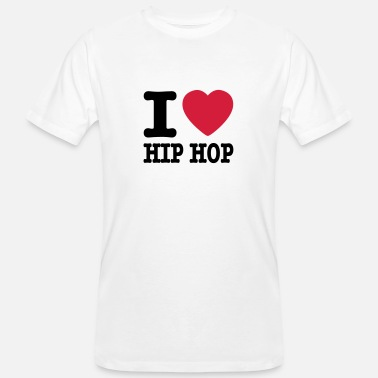 I Love Hiphop I love hiphop / I heart hiphop - Men's Organic T-Shirt