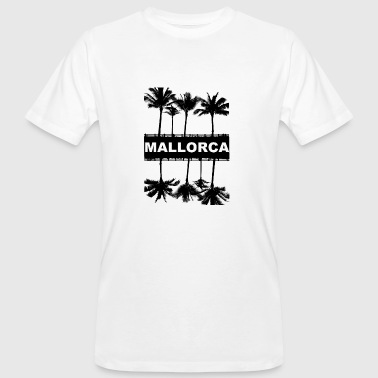 Mallorca with palm trees - Men's Organic T-Shirt