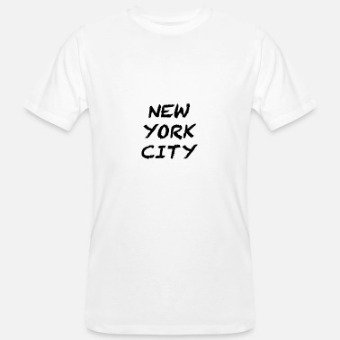 New York City New York city - Männer Bio T-Shirt
