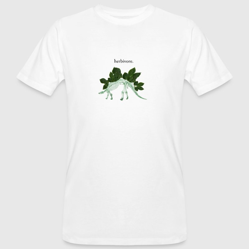 Herbivore Bones Green - Men's Organic T-shirt