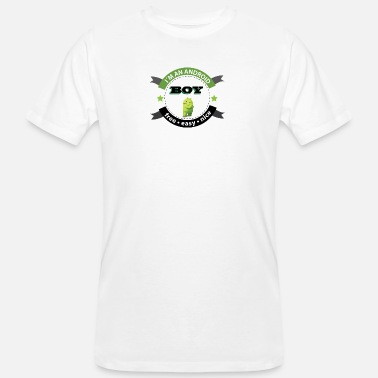 Android android logo - Men's Organic T-Shirt