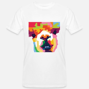 Colorful Alpaca - Men's Organic T-Shirt