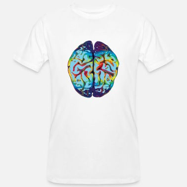 Lsd LSD Brain - Men's Organic T-Shirt