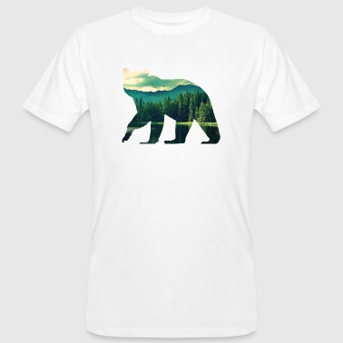 Bear T-Shirt - Mannen Bio-T-shirt