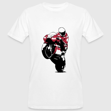 Moto-GP Racing - Männer Bio-T-Shirt