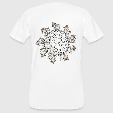 Sheep Planet - Schafe - Männer Bio-T-Shirt