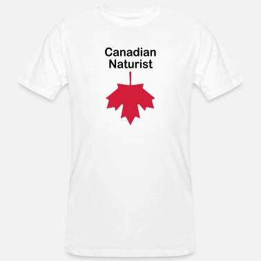 Canadian Canadian Naturist - T-shirt bio Homme