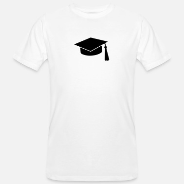 Exam graduation hat - Men's Organic T-Shirt