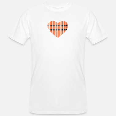 Page code-barres amour 2c - T-shirt bio Homme