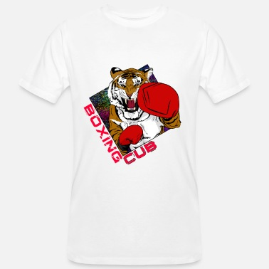 Club Boxing cub Tiger cadeau-idee voor Fighter & Tiger - Mannen bio T-shirt