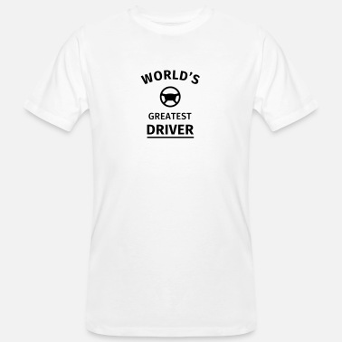 Driver World's Greatest Driver - Men's Organic T-Shirt