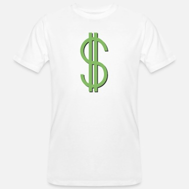 Dollar shadow - Men's Organic T-Shirt