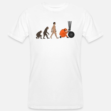 Evolution Aircraft Mechanic Evolution - Men's Organic T-Shirt