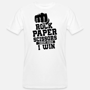 Rock Paper Scissors ROCK PAPER SCISSOR: Rock paper scissors - Men's Organic T-Shirt