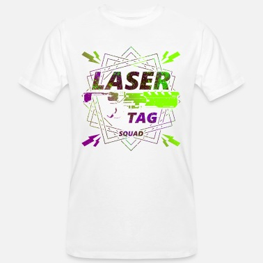 Laser Laser tag | Laser to win - Men's Organic T-Shirt