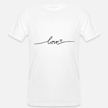 Love With Heart Love with heart - Men's Organic T-Shirt
