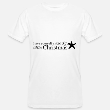 Little Italy Sandy Little Christmas - Camiseta orgánica hombre