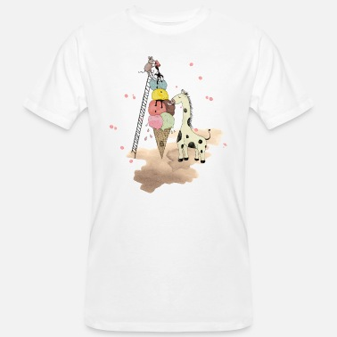 Wildlife Wildlife Icecream - T-shirt bio Homme