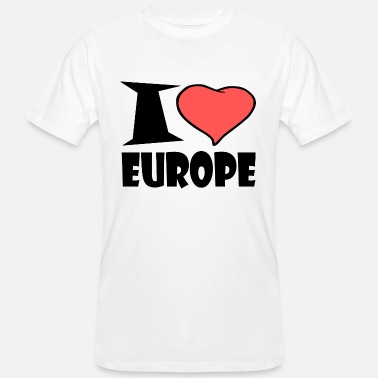 Europe I love Europe - Men's Organic T-Shirt