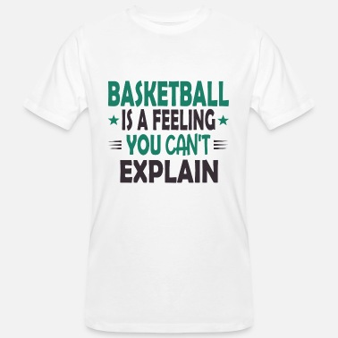Basketbalteam Basketballer basketbalteam shirt cadeau - Mannen bio T-shirt