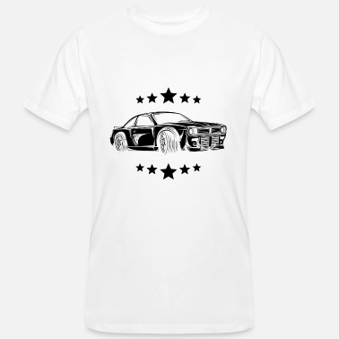 Voiture de course Auto US Car Muscle - T-shirt bio Homme
