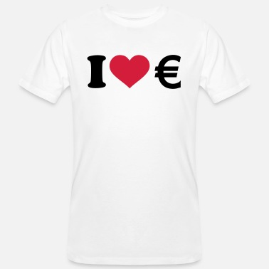 Euro I love Euro - Men's Organic T-Shirt