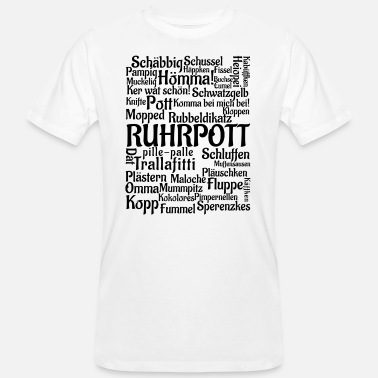 Ruhr City Ruhr - Men's Organic T-Shirt