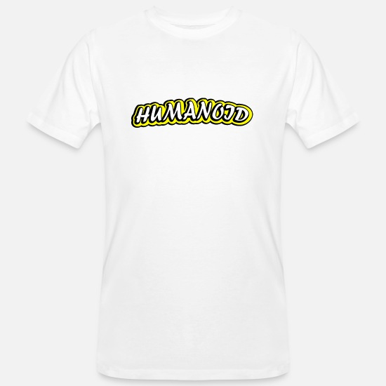 Stylish T-Shirts - humanlike being! - Men's Organic T-Shirt white