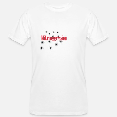 Agression micro agression - T-shirt bio Homme
