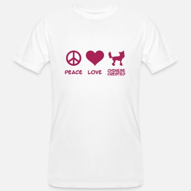 Chinese Crested Chinese Crested - Men's Organic T-Shirt