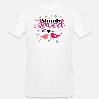 Social Distance Happy valentine day in quarantine 2021by chakibium - Männer Bio T-Shirt