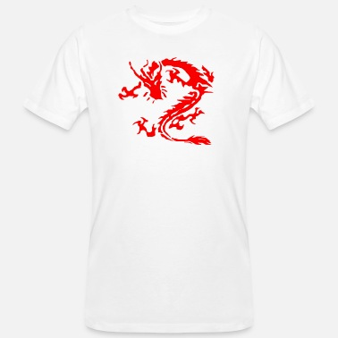 Dragon Tribal dragon tribal - T-shirt bio Homme