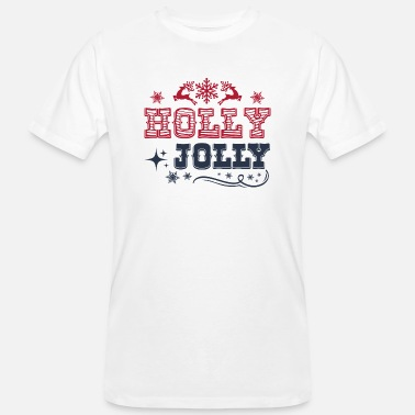 Holly holly jolly - T-shirt bio Homme