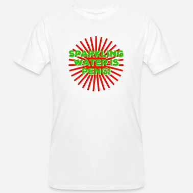 Sparkling Water Sparkling Water Is Peng - Men's Organic T-Shirt