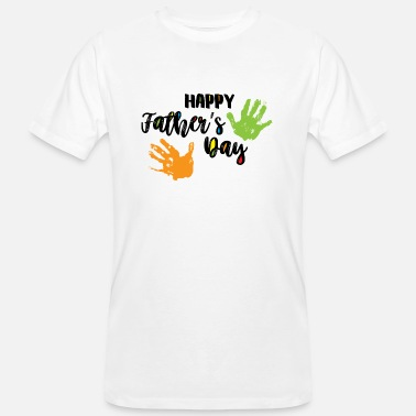 Happy Father's Day - Männer Bio T-Shirt