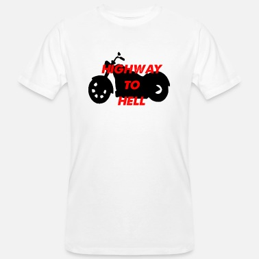 Highway To Hell highway to hell - Men's Organic T-Shirt