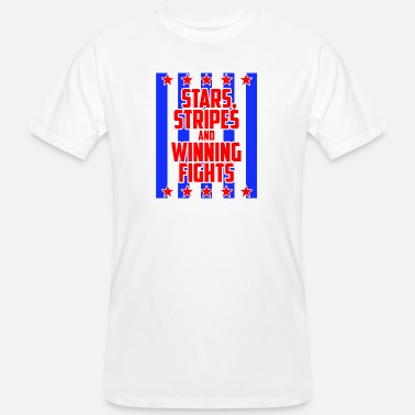 Stars And Stripes Stars and Stripes - Men's Organic T-Shirt