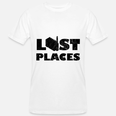 Lost Place Lost Place-fabriek - Mannen bio T-shirt