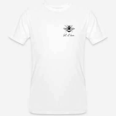 Kind Let It Bee Summer Be Kind Nature Friends Men Dam - Økologisk T-shirt mænd