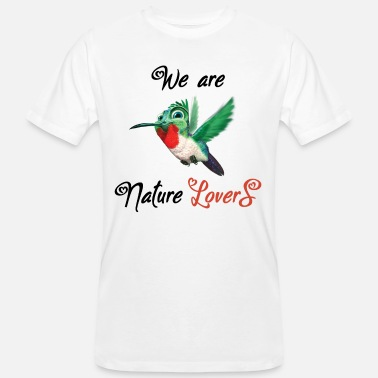 We are Nature Lovers - Men's Organic T-Shirt