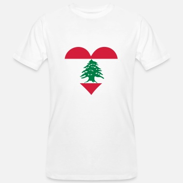 Hezbollah A heart for Lebanon - Men's Organic T-Shirt
