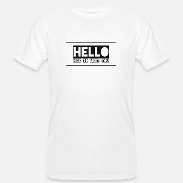 News-and-events Friendly welcome for events - Men's Organic T-Shirt