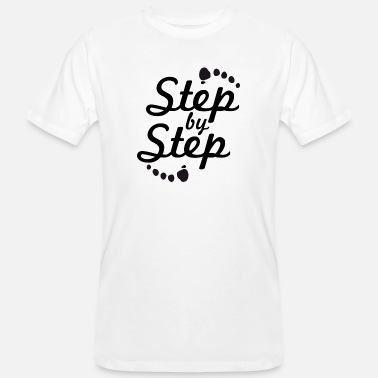 Steppe step by step 2 - T-shirt bio Homme
