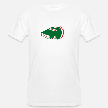 Fan Mile Whistle Italy World Cup soccer gift sports fan mile - Men's Organic T-Shirt