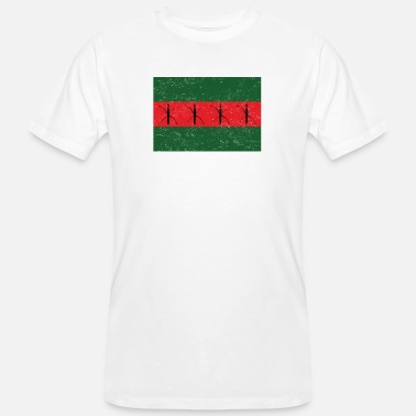 Bow Box archery bow green red beam box vinta - Men's Organic T-Shirt