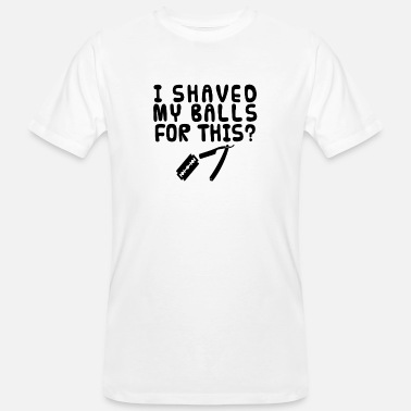 Shave Shaved eggs - Men's Organic T-Shirt