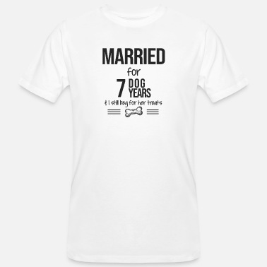 1 1 Year Anniversary Gift, 1st Wedding Anniversary - Men's Organic T-Shirt