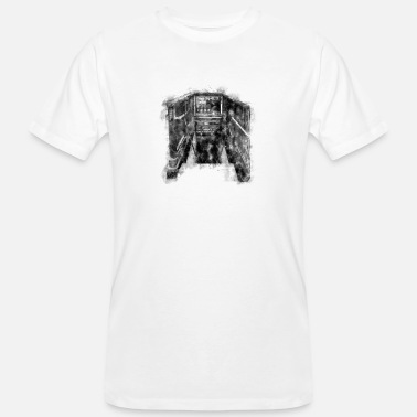 Statue New York - Männer Bio T-Shirt