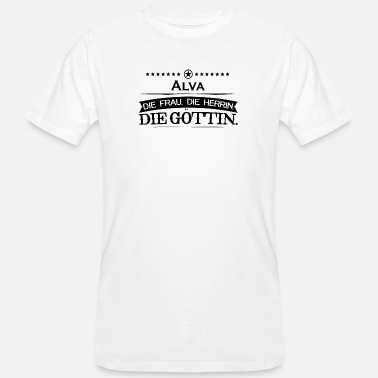 Alva birthday goettin Alva - Men's Organic T-Shirt