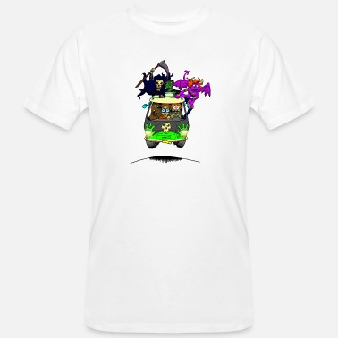 Scooby No Scooby fan art final - Men's Organic T-Shirt